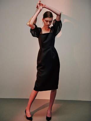 LAGUNAMOON (ラグナムーン) - LADY シアードットスリーブタイトドレス