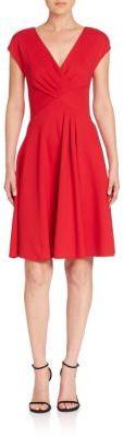Armani Collezioni Milano Ruched Dress $995 thestylecure.com