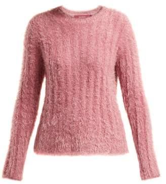 Sies Marjan - Margo Lurex Faux Fur Sweater - Womens - Pink