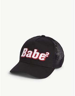 DSQUARED2 Acc Babe2 logo mesh cotton baseball cap