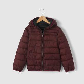 La Redoute COLLECTIONS Reversible Light Padded Jacket with Hood, 3-12 Years