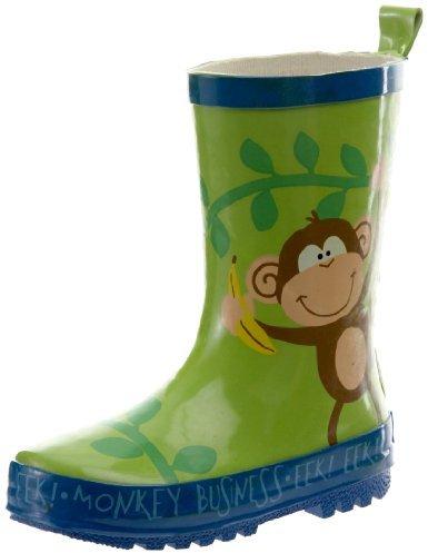 Stephen Joseph Boys 2-7 Monkey Rain Boots