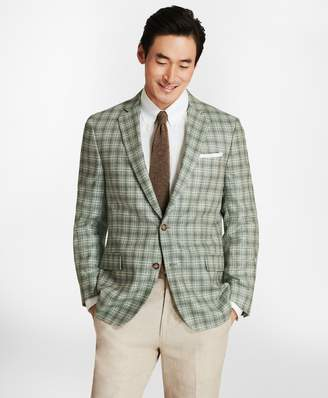 Brooks Brothers Regent Fit Plaid with Multi-Windowpane Sport Coat