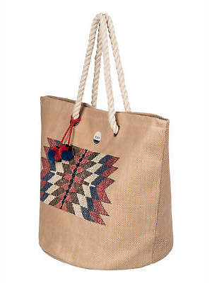 Roxy NEW ROXYTM Womens Sun Seeker Tote Bag Womens Handbag