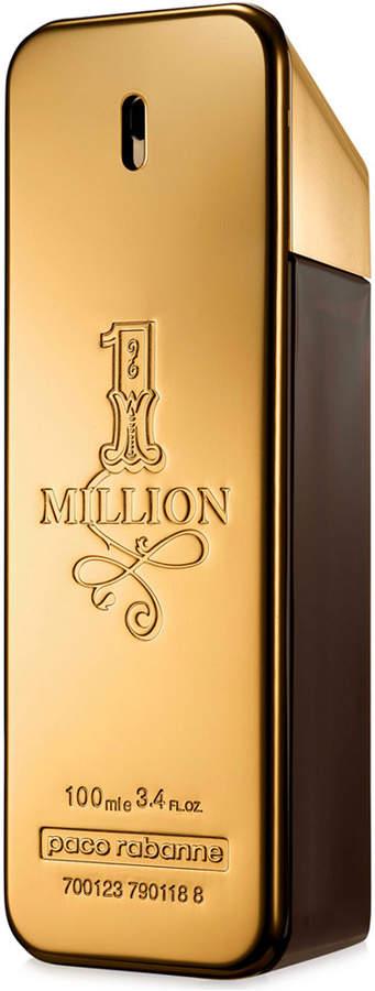 Paco Rabanne 1 Million Eau de Toilette Spray, 3.4 oz.