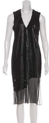 Prabal Gurung Sequin Embellished Shift Dress