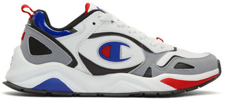 Champion Reverse Weave White Leather Nxt Sneakers