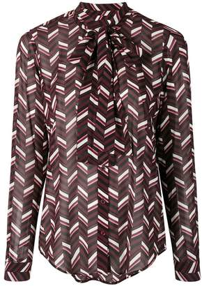 MICHAEL Michael Kors geometric blouse