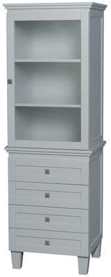Wyndham Collection Acclaim 24 W x 72.25 H Linen Tower