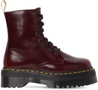 Dr. Martens 40mm Jadon Ii Brushed Leather Boots
