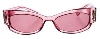 Saint Laurent Tinted Narrow Sunglasses