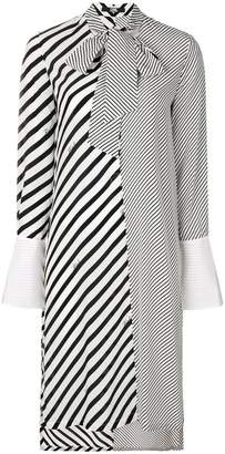 Karl Lagerfeld striped shirt dress