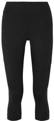 Nike Power Cropped Dri-fit Stretch Leggings - Black
