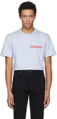 Calvin Klein Blue Logo Text T-Shirt