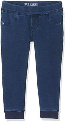 GUESS Girls' Denim Core Jeans,(Manufacturer Size: 5)