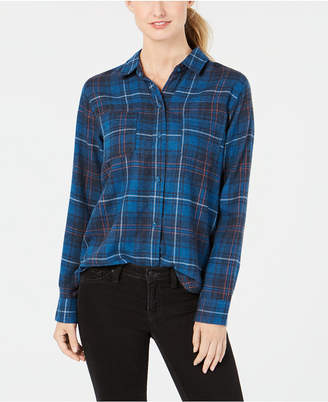 Hurley Juniors' Kara Plaid Shirt