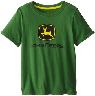 John Deere Little Boys' Front Logo Short Sleeve Tee