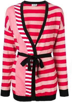 Liu Jo striped wrap cardigan