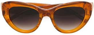 Pomellato Eyewear tinted cat eye sunglasses