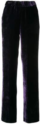 P.A.R.O.S.H. side stripe velvet trousers