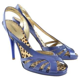 Roberto Cavalli Patent leather sandals