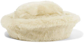CLYDE Faux Fur Hat - Ivory