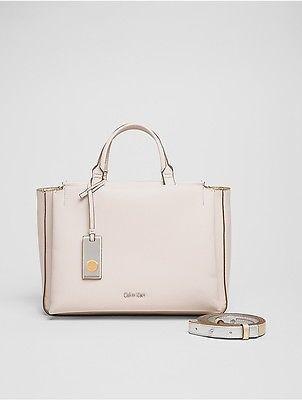 Calvin KleinCalvin Klein Womens Pebble Duffle Bag Mushroom