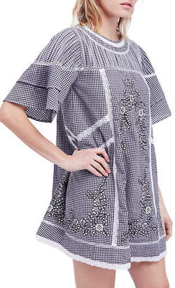 Free People Sunny Cotton A-Line Dress