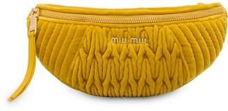 Miu Miu Matelassé belt bag