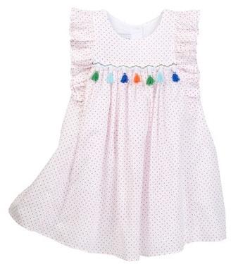 Pippa & Julie Dotty & Tassel Dress (Toddler Girls) $58 thestylecure.com