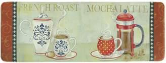 """Bacova French Duo Memory Foam Kitchen Rug Runner - 55"""" x 20"""""""