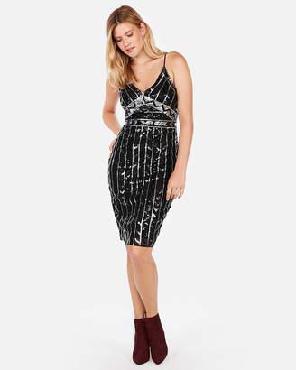 Express Sequin Embellished Cami Dress