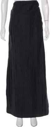 Brunello Cucinelli Tonal Maxi Skirt