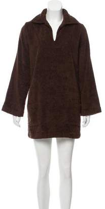 Lisa Marie Fernandez Terry Cloth Cover-Up Dress