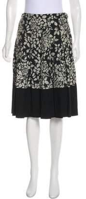 Anna Molinari Virgin Wool Knee-Length Skirt w/ Tags