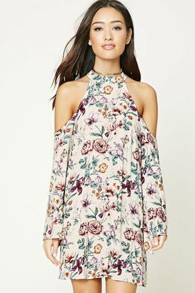 FOREVER 21+ Floral Print Shift Dress $19.90 thestylecure.com