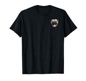 Pug Dog Funny Face Graphic T-Shirt