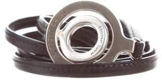 Marc Jacobs Leather Logo Belt
