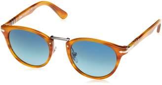 Persol Men 1505171003 Brown/Blue Sunglasses 49mm