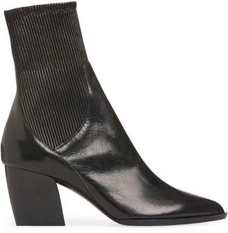 Pierre Hardy Rodeo Stretch Leather Block Heel Boots