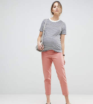 Asos (エイソス) - Asos Maternity ASOS MATERNITY Tailored Linen Cigarette Pants