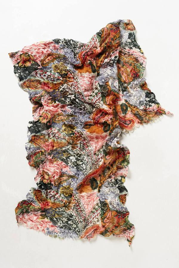 Anthropologie Paisley Bungalow Scarf