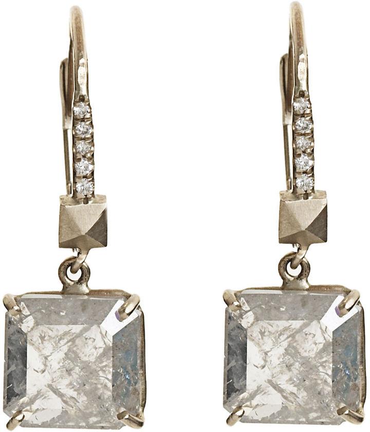 Andrea Lieberman Diamond Drop Earrings