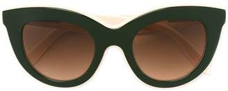 Victoria Beckham cat eye shaped sunglasses
