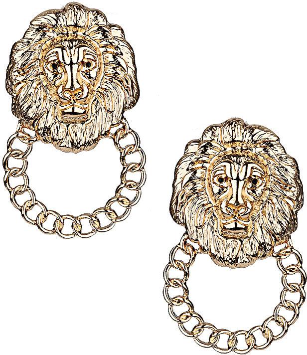 Topshop Lion Doorknocker Studs