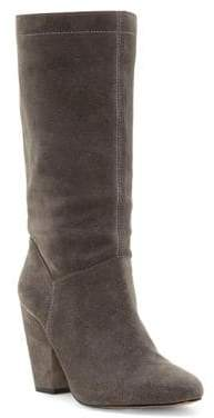 1 STATE 1.STATE Maribell Suede Mid-Calf Boots