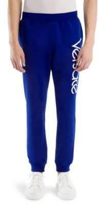Versace Cotton Logo Sweatpants