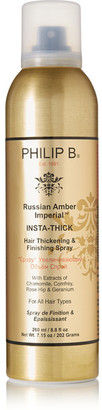 Philip B - Russian Amber Imperial Insta-thick Spray, 260ml $38 thestylecure.com