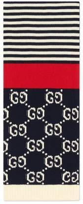 Gucci GG cotton scarf