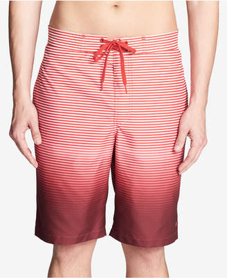 "Calvin Klein Men's Degrade Stripe 9"" Board Shorts"